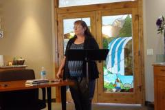 Diane-Presenting
