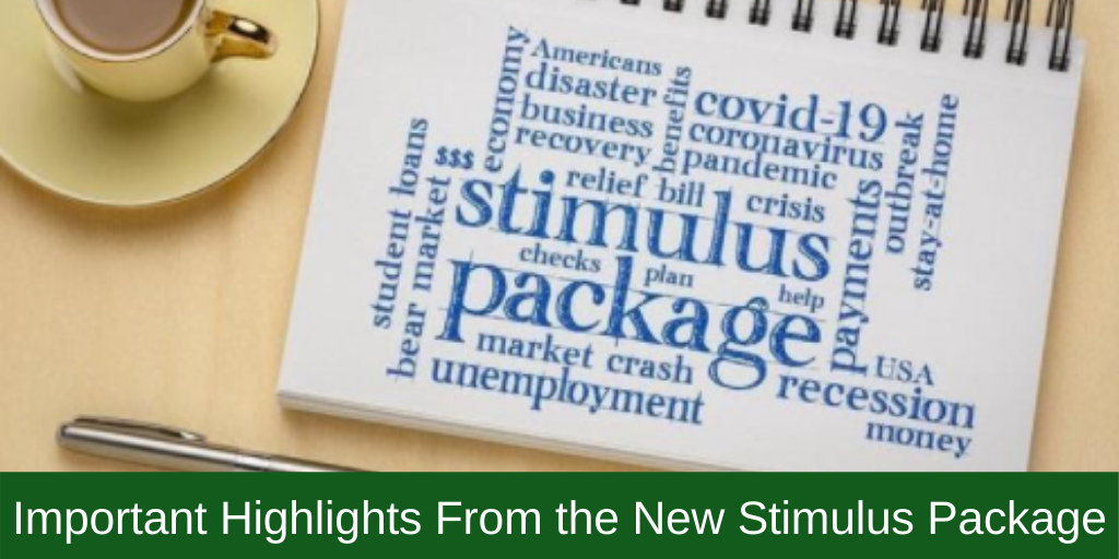 Important Highlights From the New Stimulus Package
